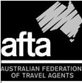 AFTA Transparent White Logo Small