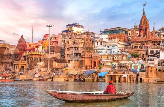 13 Day Cruise of the Golden Triangle & the Sacred Ganges (Varanasi-Delhi) 2019 & 2020
